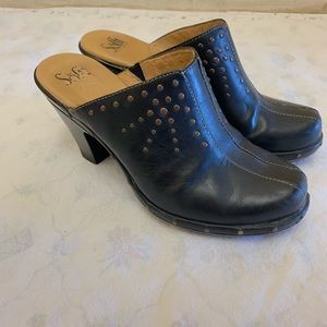 Sofft Leather Clogs